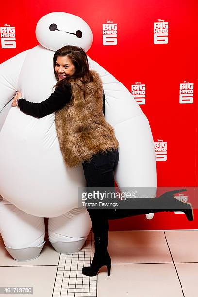Imogen Thomas attends a photocall for Disney's 'Big Hero 6' at Odeon Leicester Square on January 18 2015 in London England