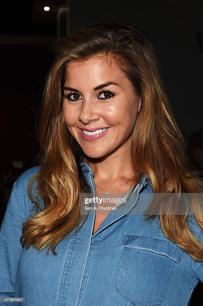 Imogen Thomas attends the Fan Footage Event of 'Terminator Genisys' at Vue Westfield on June 17, 2015 in London, England.