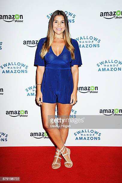 Imogen Thomas attends the gala screening for 'Swallows and Amazons' at Picturehouse Central on July 23 2016 in London England