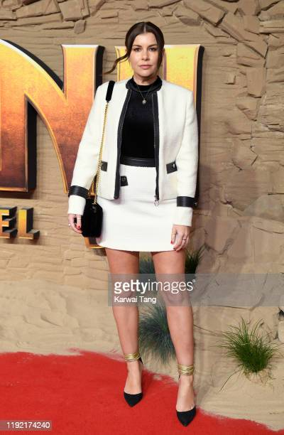 Imogen Thomas attends the Jumanji The Next Level UK Film Premiere at BFI Southbank on December 05 2019 in London England