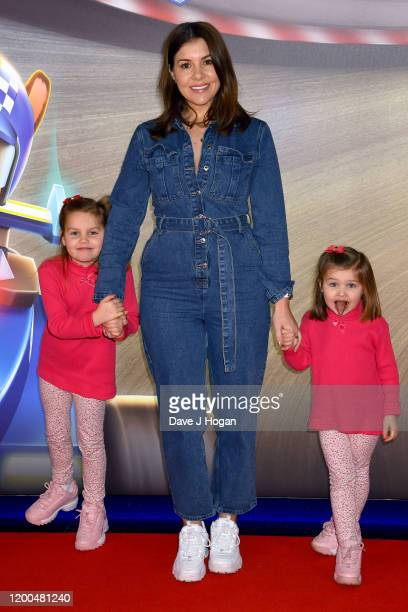 """Imogen Thomas attends the """"Paw Patrol"""" gala screening at Cineworld Leicester Square on January 19, 2020 in London, England."""
