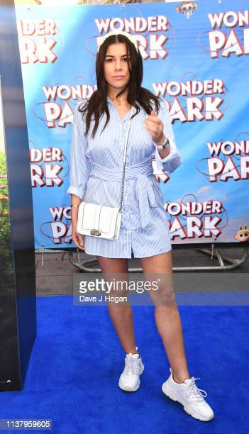 Imogen Thomas attends the UK Gala screening of WONDER PARK at Vue Leicester Square on March 24 2019 in London England