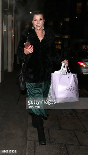 Imogen Thomas seen attending Finding Your Feet Strictly special film screening at Mayfair hotel on December 11 2017 in London England