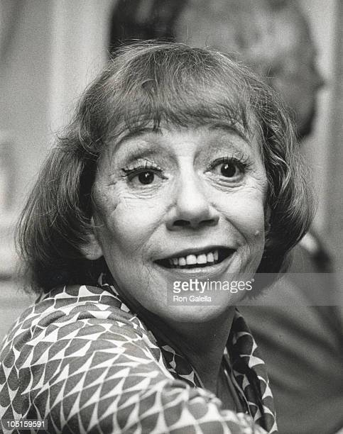 Imogene Coca during Benefit for St Jude's Children's Hospital at Sybils in New York City New York United States