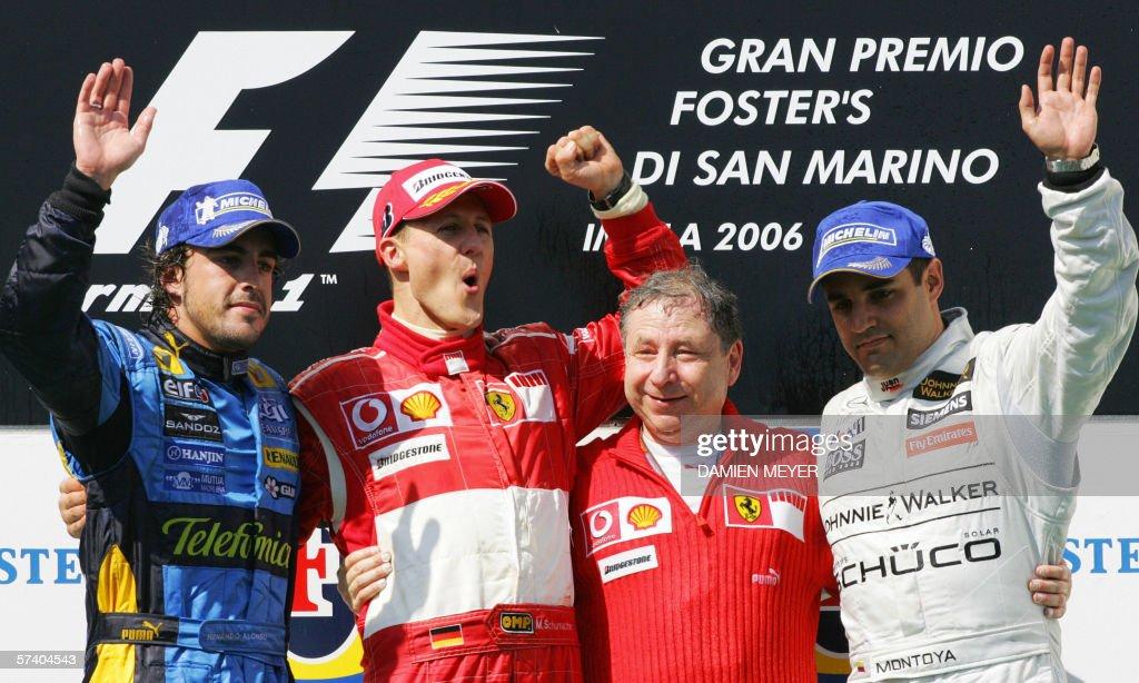(L to R) Spanish Renault driver Fernando : News Photo