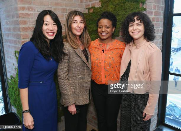 Impact Candidates Steph Speirs ELLE EditorinChief Nina Garcia Lisa Dyson and Amanda Weeks attend ELLE INCO 2019 Impact Awards in partnership with...