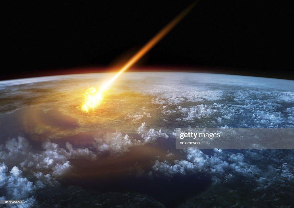 Impact Earth : Stock Photo