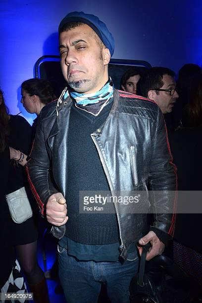 Impasse De La Defense designer Karim Bonnet attends the 'Monkey Crashers' House Party at Espace Du Moulin Joly on March 28, 2013 in Paris, France.