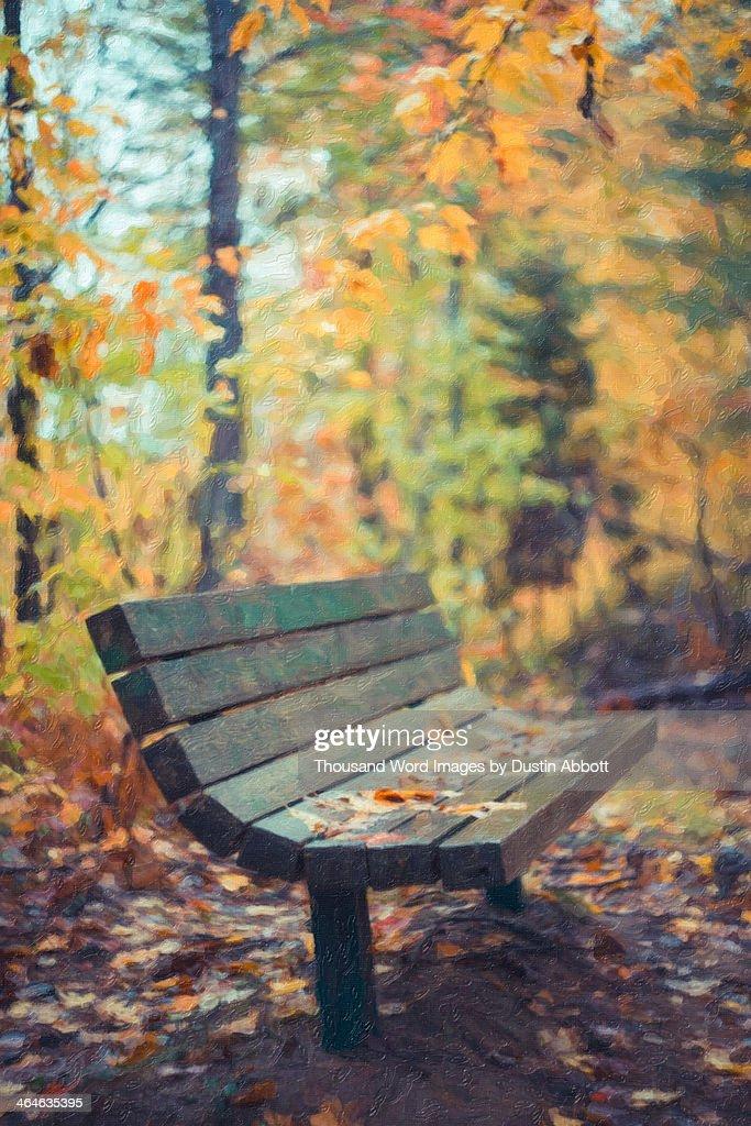 Impasto in Autumn : Foto de stock