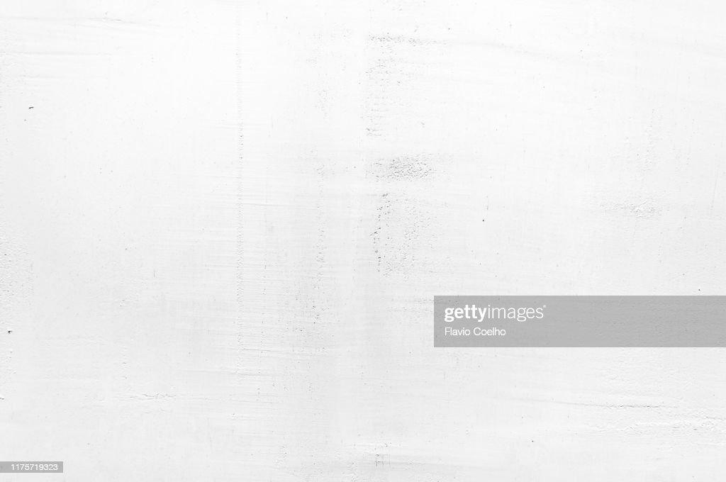 Imperfect gypsum plaster surface : Stock Photo