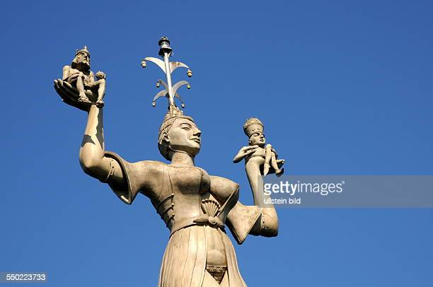 'Imperia' is a statue by the sculptor Peter Lenk at the harbor entrance on Lake Constance The statue commemorates the Council of Constance and makes...