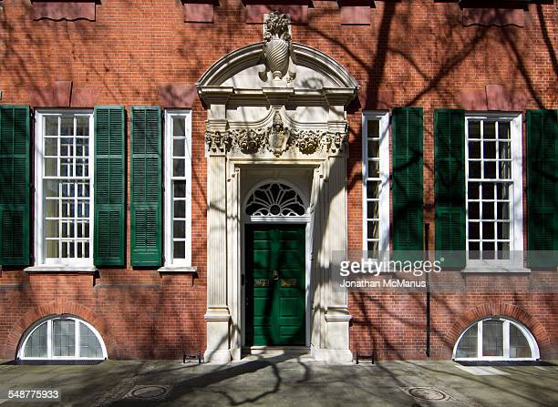 Imperial College London The entrance to 170 Queen's Gate taken on 12 April 2015 This grade 2 listed building was designed by Norman Shaw and built in...