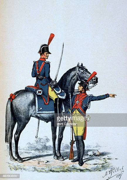 Imperial Gendarmerie of Paris 1813 In France the Gendarmerie Nationale is the national military police force A print from François Cudet's Histoire...
