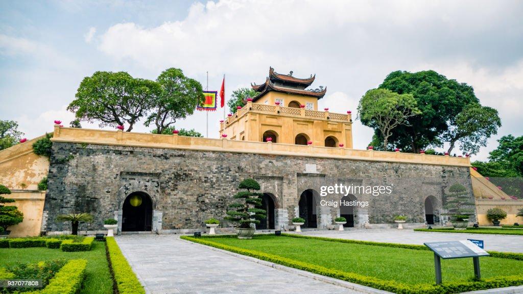 Imperial Palace Hanoi Vietnam Tourist attraction : Stock Photo