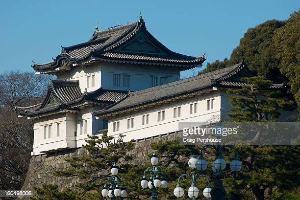 imperial palace - imperial palace tokyo stock pictures, royalty-free photos & images