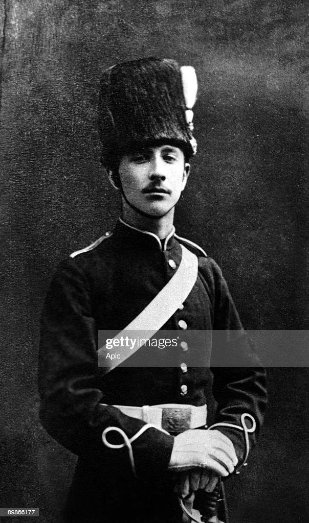 Imperial prince in England (son of Napoleon III) Louis Napoleon (1856 1879) Photo Chrislehurst : News Photo