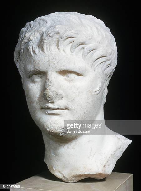 Imperial Roman Sculpture Bust of Emperor Nero