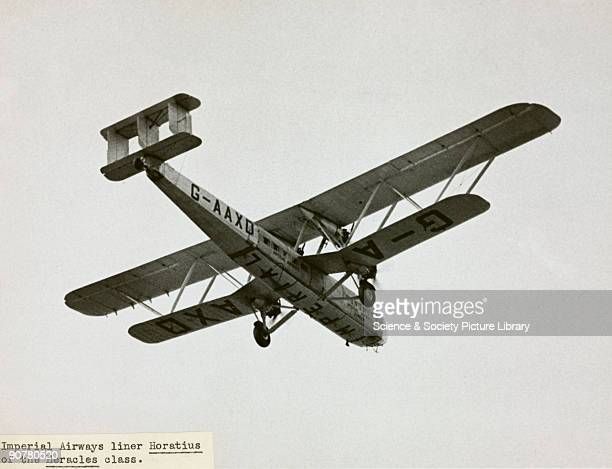 Imperial titles written under the fuselage and low flying created opportunities to spread the word The Handley Page HP42 was the most famous Imperial...