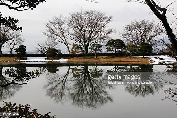 Imperial villa, kyoto, japan