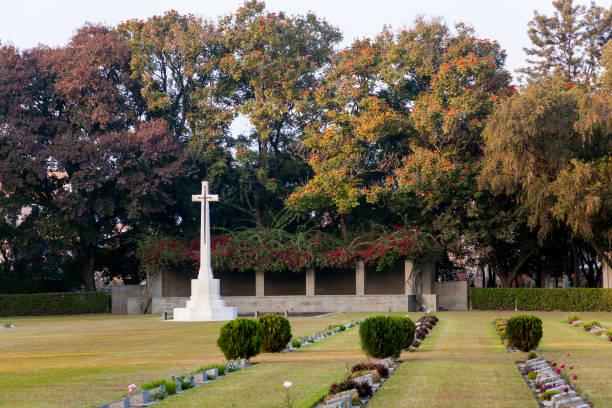 Imphal War Cemetery, Dewlahland, Kabo Leikai