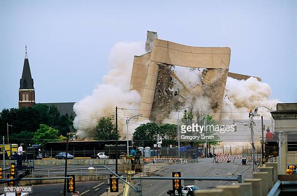 Implosion of the Alfred P Murrah Federal Building