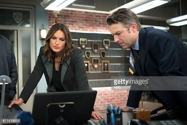 UNIT Imposter Episode 1803 Pictured Mariska Hargitay as Lieutenant Olivia Benson Peter Scanavino as Dominick Sonny Carisi