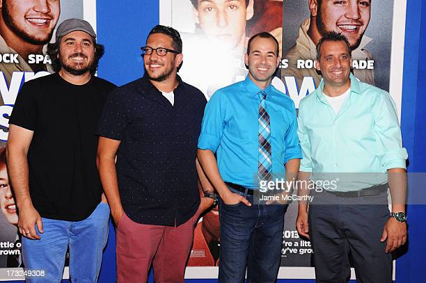 Impractical Jokers Brian Quinn Salvatore Vulcano James Murray and Joe Gatto attend the 'Grown Ups 2' New York Premiere at AMC Lincoln Square Theater...