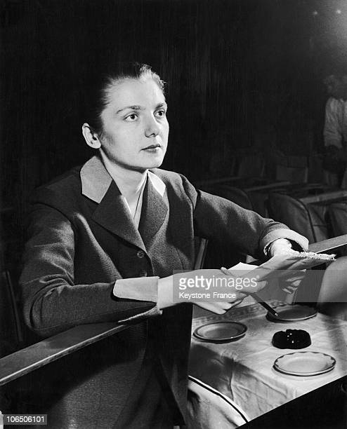 Impresario Of Folies Bergeres Helene Martini Studying The Reviews In Manhattan New York 20 Years Later She Became Director Of Folies Bergeres