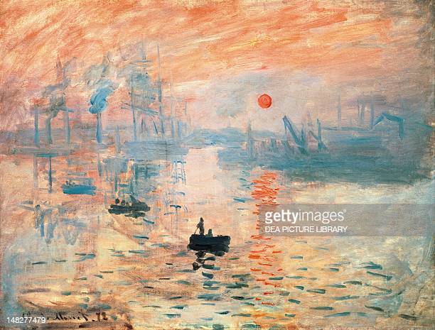 Impression sunrise by Claude Monet Paris Musée Marmottan Monet