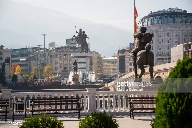impressions of the old town of skopje - skopje stock pictures, royalty-free photos & images