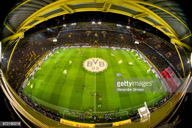 Impressions of the Signal Iduna Park prior to the Bundesliga match between Borussia Dortmund and FC Bayern Muenchen at the Signal Iduna Park on...