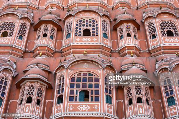 impressive architecture, jaipur, india - palace stock pictures, royalty-free photos & images