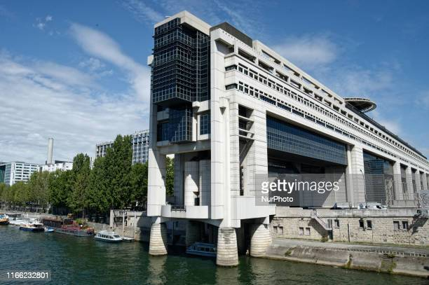 Impressive facade of the Minister of the Economy, Finances and Industry called the Minister of Finance for short or simply 'Bercy' on 4 September...