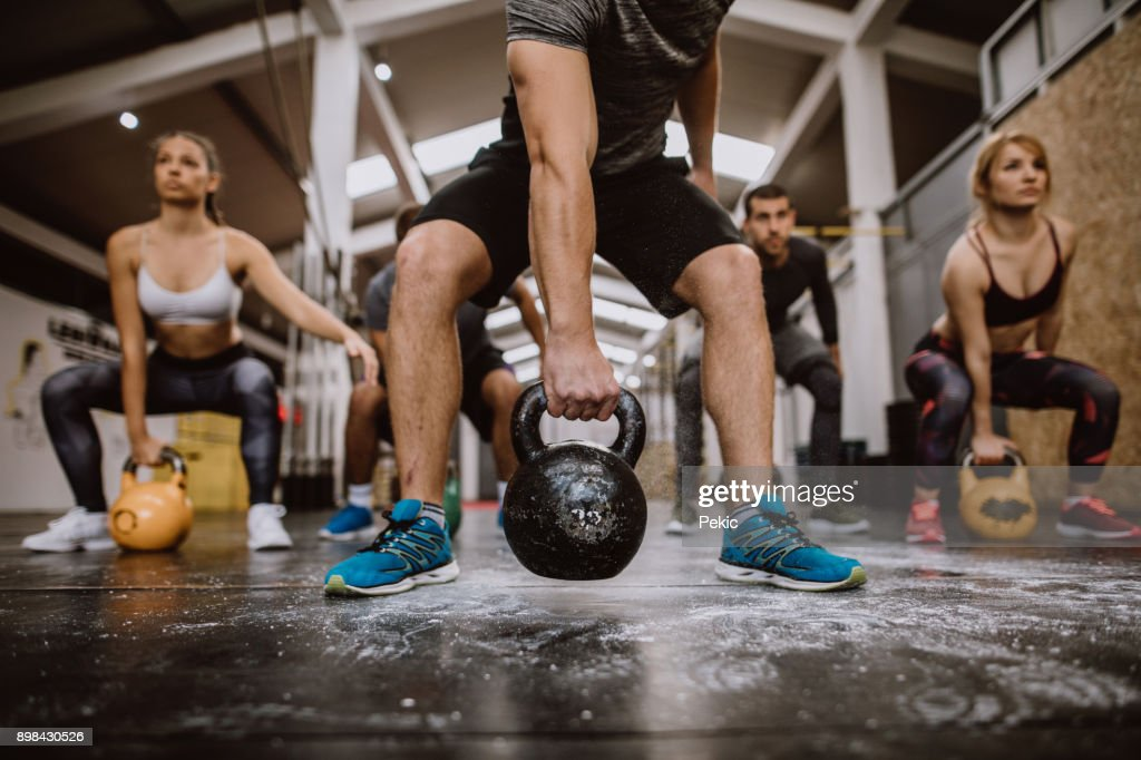 Impressive Workout : Stock Photo