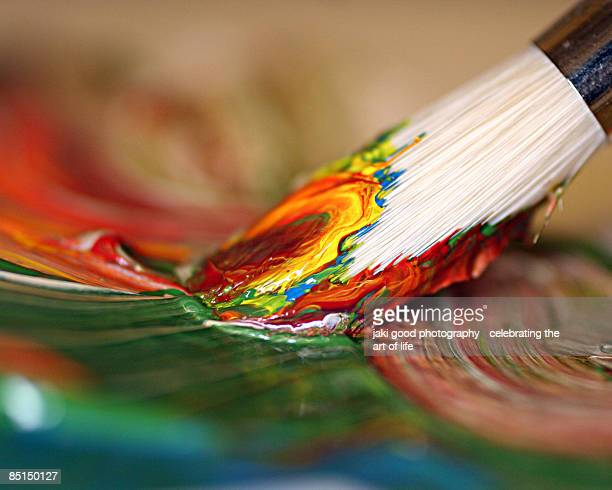 impulse - paintbrush stock pictures, royalty-free photos & images
