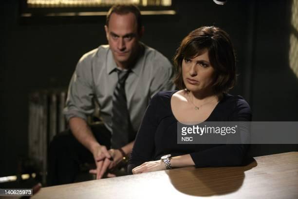 UNIT Impulsive Episode 903 Pictured Christopher Meloni as Detective Elliot Stabler Mariska Hargitay as Detective Olivia Benson Photo by Craig...