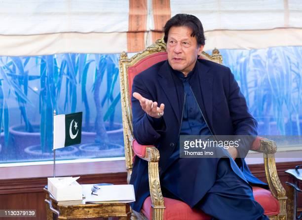 Imran Ahmed Khan Niazi Prime Minister of Pakistan on March 12 2019 in Islamabad Pakistan