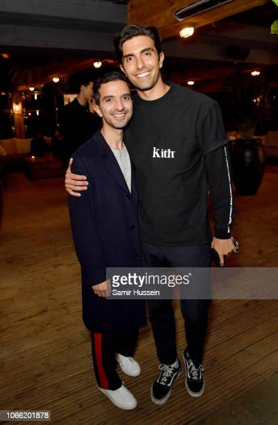 Imran Amed and Akin Akman attend the welcome dinners and community cocktails during #BoFVOICES on November 28 2018 in Oxfordshireshire England
