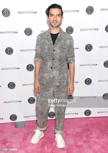 Imran Amed attends Beautycon Los Angeles 2019 Day 2 Pink Carpet at Los Angeles Convention Center on August 11, 2019 in Los Angeles, California.