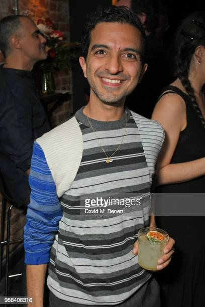 Imran Amed attends London dinner to celebrate the Persol SS/18 Good Point, Well Made Live Series hosted by Jefferson Hack and Brandon Flynn at...