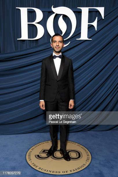 Imran Amed attends the #BoF500 gala during Paris Fashion Week Spring/Summer 2020 at Hotel de Ville on September 30, 2019 in Paris, France.