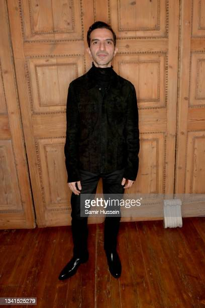 Imran Amed attends The Launch of The BoF Show on Bloomberg Quicktake on September 20, 2021 in London, England.