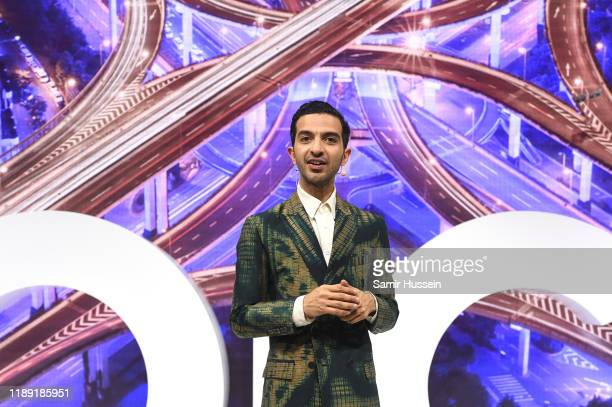 Imran Amed speaks during #BoFVOICES on November 21, 2019 in Oxfordshire, England.