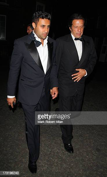 Imran Khan attending The Elephant Family Presents The Animal Ball on July 9 2013 in London England