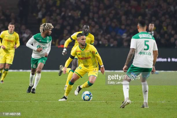 Imran LOUZA of Nantes during the Ligue 1 match between Nantes and Saint Etienne at Stade de la Beaujoire on November 10 2019 in Nantes France