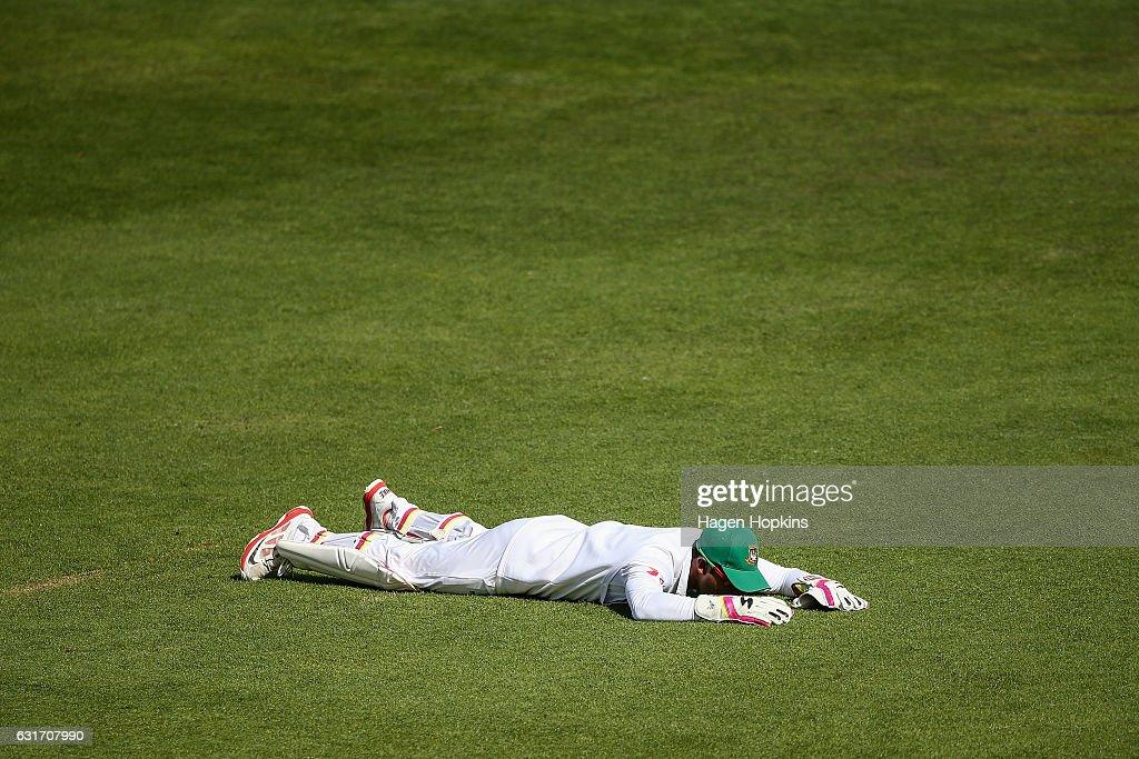 New Zealand v Bangladesh - 1st Test: Day 4