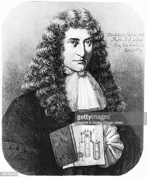 In 1675 Denis Papin went to London where he worked with Robert Boyle and invented the forerunner to the pressure cooker the 'steam digester' which...