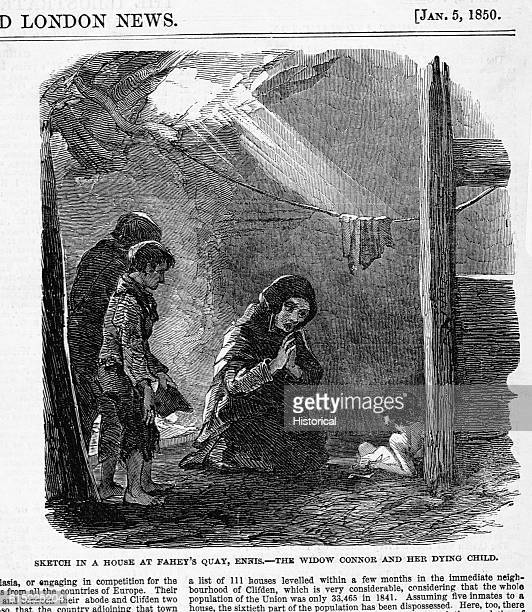 In 1849 citizens near Carihaken still suffered under severe poverty despite the newly enacted Poor Laws in Great Britain The potato famine of a few...