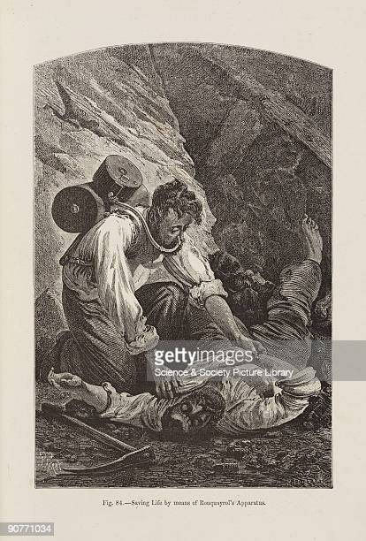 In 1860 a French mining engineer Benoit Rouquayrol invented a selfcontained breathing apparatus which could be used to rescue miners overcome by...