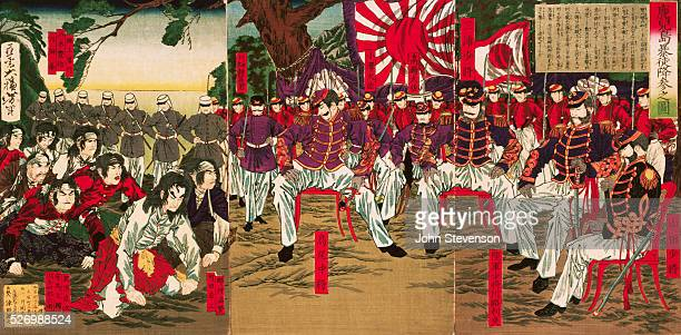 In 1877 nine years after the Meiji Restoratin a major rebellion in Kyushu concentrated the opposition of conservative elements to the westernization...